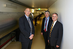 SENATOR, THE HON DON FARRELL, MINISTER FOR SCIENCE AND RESEARCH visiting the Australian Synchrotron, 11 April 2013  During the visit the Senator met with and was briefed by;.Dr Adi Paterson, CEO, ANSTO.Prof Andrew Peele, Interim Director, Australian Synchrotron (AS).Nadia Levin, General Manager, Government, International and External Relations, ANSTO.Prof Michael James, Head of Science, AS.Sarah Bartlett, Group Leader - Comms & Outreach, AS.Dr David Cookson, Head of Beamline Science & Operations. .Dr Tom Caradoc-Davies, Principal Scientist - Macromolecular Crystallography.Dr Nathan Cowieson, Senior Scientist - Macromolecular Crystallography.Dr Helen Brand, Scientist, Powder Diffraction.Dr Martin de Jonge, Senior Scientists - X-ray fluorescence microscopy.  This image is low resolution, for access to the original files please contact Digital Image.