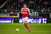 Anthony WEBER - 25.01.2015 - Reims / Lens  - 22eme journee de Ligue1<br /> Photo : Dave Winter / Icon Sport *** Local Caption ***