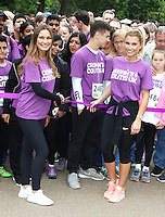 Sam Faiers & Billie Faiers, London Charity Walk for Crohn's & Colitis UK - Photocall, Victoria Embankment Gardens, London UK, 04 June 2016, Photo by Brett D. Cove