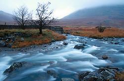 UK ENGLAND CUMBRIA NOV00 - General view of a river near the Wrynase Pass in the Lake District.. . jre/Photo by Jiri Rezac. . © Jiri Rezac 2000. . Tel:   +44 (0) 7050 110 417. Email: info@jirirezac.com. Web:   www.jirirezac.com