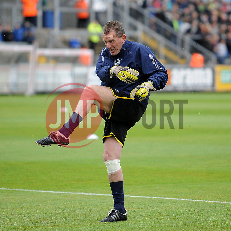 "Stuart ""grim up north"" Naylor - Photo mandatory by-line: Neil Brookman/JMP - Mobile: 07966 386802 - 03/05/2015 - SPORT - Football - Bristol - Memorial Stadium - Bristol Rovers v Forest Green Rovers - Vanarama Football Conference"