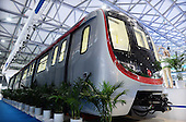 Driverless Subway Train In Shanghai