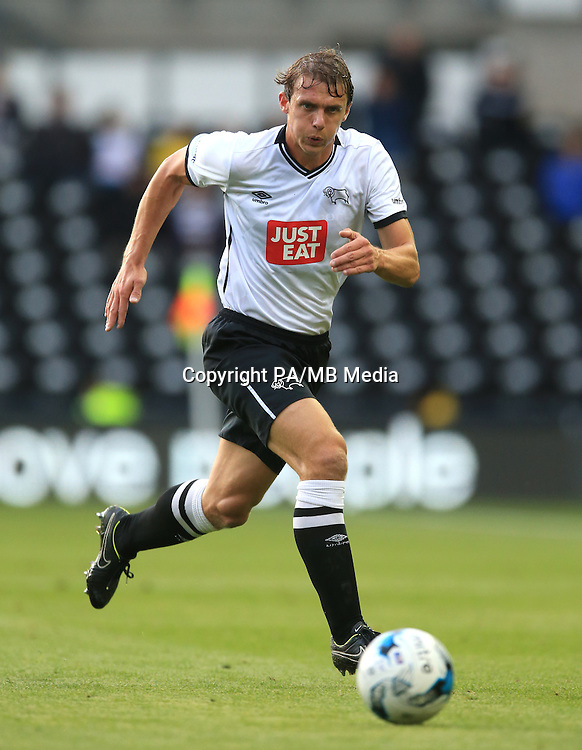 Derby County's Stephen Warnock