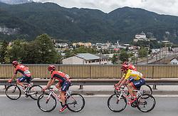03.07.2016, Salzburg, AUT, Ö-Tour, Österreich Radrundfahrt, 1. Etappe, Innsbruck nach Salzburg, im Bild Lachlan Norris (AUS, Drapac Professional Cycling), Adam Phelan (AUS, Drapac Professional Cycling), William Clarke (AUS, Drapac Professional Cycling) // Lachlan Norris (AUS, Drapac Professional Cycling), Adam Phelan (AUS, Drapac Professional Cycling), William Clarke (AUS, Drapac Professional Cycling) during the Tour of Austria, 1st Stage from Innsbruck to Salzburg at Salzburg, Austria on 2016/07/03. EXPA Pictures © 2016, PhotoCredit: EXPA/ JFK