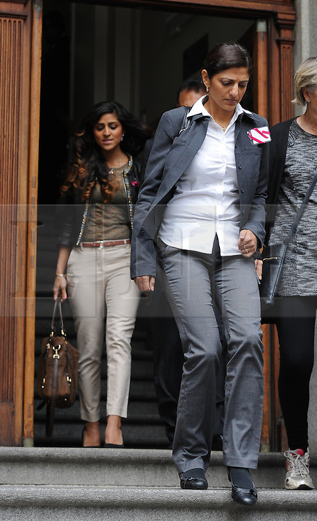 © Licensed to London News Pictures. 08/10/14. CAPE TOWN, SOUTH AFRICA -   Ami Denborg , sister of Anni Dewani, leaves the court during Day 3 of the Shrien Dewani trial at the Cape High Court before Judge Jeanette Traverso. Dewani is caused of hiring hit men to murder his wife, Anni. Anni Ninna Dewani (née Hindocha; 12 March 1982 – 13 November 2010) was a Swedish woman who, while on her honeymoon in South Africa, was kidnapped and then murdered in Gugulethu township near Cape Town on 13 November 2010 . Photo credit : Roger Sedres/LNP