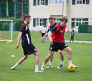 Dundee&rsquo;s Craig Wighton on the ball - Day 4 of Dundee FC pre-season training camp in Obertraun, Austria<br /> <br />  - &copy; David Young - www.davidyoungphoto.co.uk - email: davidyoungphoto@gmail.com