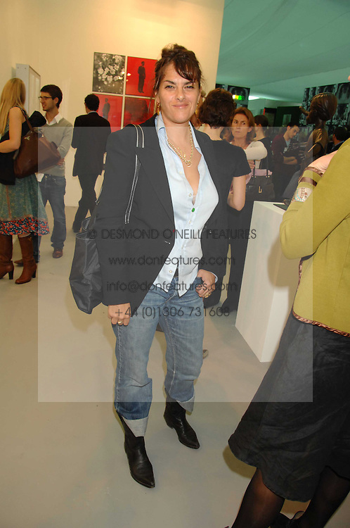 TRACEY EMIN at the opening of Frieze Art Fair 2007 held in regent's Park, London on 10th October 2007.<br />