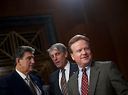 Feb 3, 2011 - Washington, District of Columbia, U.S. - Senator JIM WEBB (D-VA) before the start of a Senate Armed Services Committee hearing on U.S. Policy toward Iraq.(Credit Image: © Pete Marovich/ZUMA Press)