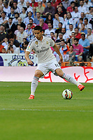Real Madrid´s James Rodriguez during 2014-15 La Liga match between Real Madrid and Valencia at Santiago Bernabeu stadium in Madrid, Spain. May 09, 2015. (ALTERPHOTOS/Luis Fernandez)