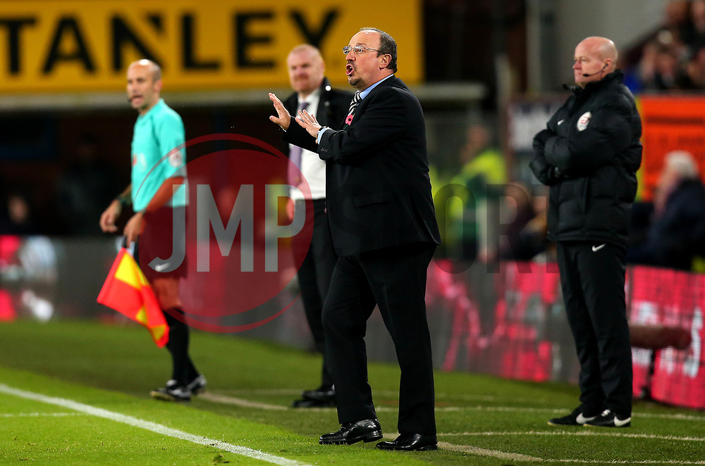 Newcastle United manager Rafa Benitez - Mandatory by-line: Robbie Stephenson/JMP - 30/10/2017 - FOOTBALL - Turf Moor - Burnley, England - Burnley v Newcastle United - Premier League