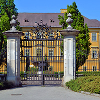 Archbishop&rsquo;s Palace in Eger, Hungary<br /> Beginning in 1740, this Baroque building behind the ornate, wrought-iron fence served as the residence for the Bishops of Eger and later for Catholic archbishops. The palace is now a museum displaying religious artifacts, artwork, vestments and furniture. Most of the exhibited items are from the 18th and 19th century. A few treasures date back about 1,000 years. The recently restored Archiepiscopal Palace is located along Sz&eacute;chenyi Street, the town&rsquo;s main, pedestrian-only shopping neighborhood.