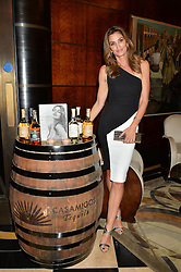 CINDY CRAWFORD at the London launch of Casamigos Tequila hosted by Rande Gerber, George Clooney & Michael Meldman and to celebrate Cindy Crawford's new book 'Becoming' held at The Beaumont Hotel, Brown Hart Gardens, 8 Balderton Street, London on 1st October 2015.