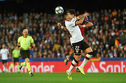 November 5, 2019, Valencia, Valencia, Spain: Maxi Gomez of Valencia during the during the UEFA Champions League group H match between Valencia CF and Losc Lille at Estadio de Mestalla on November 5, 2019 in Valencia, Spain (Credit Image: © AFP7 via ZUMA Wire)