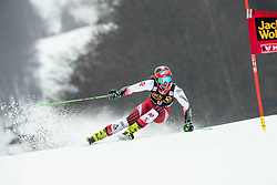 HAASER Ricarda of Austria competes during  the 6th Ladies'  GiantSlalom at 55th Golden Fox - Maribor of Audi FIS Ski World Cup 2018/19, on February 1, 2019 in Pohorje, Maribor, Slovenia. Photo by Vid Ponikvar / Sportida