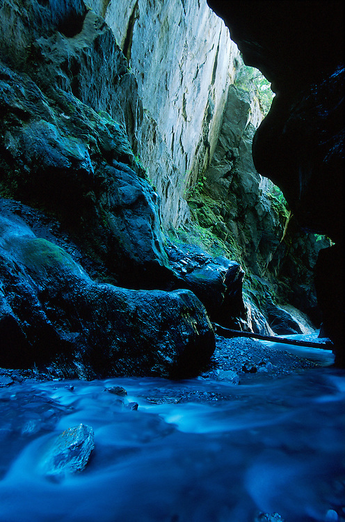 Wilsons Creek Gorge Haast Pass