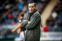 Alloa Athletic's manager Danny Lennon. <br /> Falkirk 5 v 0 Alloa Athletic, Scottish Championship game played at The Falkirk Stadium. &copy; Ross Schofield