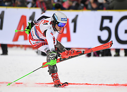 26.01.2020, Streif, Kitzbühel, AUT, FIS Weltcup Ski Alpin, Slalom, Herren, im Bild Fabio Gstrein (AUT) // Fabio Gstrein of Austria during the men's Slalom of FIS Ski Alpine World Cup at the Streif in Kitzbühel, Austria on 2020/01/26. EXPA Pictures © 2020, PhotoCredit: EXPA/ Erich Spiess