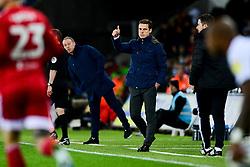 Fulham manager Scott Parker - Mandatory by-line: Ryan Hiscott/JMP - 29/11/2019 - FOOTBALL - Liberty Stadium - Swansea, England - Swansea City v Fulham - Sky Bet Championship