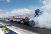 April 22-24, 2016: NHRA 4 Wide Nationals: Top Fuel dragster burnout