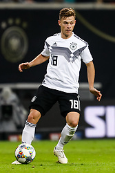 November 16, 2018 - Leipzig, Germany - Joshua Kimmich of Germany in action during the international friendly match between Germany and Russia on November 15, 2018 at Red Bull Arena in Leipzig, Germany. (Credit Image: © Mike Kireev/NurPhoto via ZUMA Press)