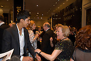 Dev Patel; Pauline McLoud, The London Critics' Circle Film Awards 2009 in aid of the NSNCC. Grosvenor House Hotel . Park Lane. London. 4 February 2009 *** Local Caption *** -DO NOT ARCHIVE -Copyright Photograph by Dafydd Jones. 248 Clapham Rd. London SW9 0PZ. Tel 0207 820 0771. www.dafjones.com<br /> Dev Patel; Pauline McLoud, The London Critics' Circle Film Awards 2009 in aid of the NSNCC. Grosvenor House Hotel . Park Lane. London. 4 February 2009