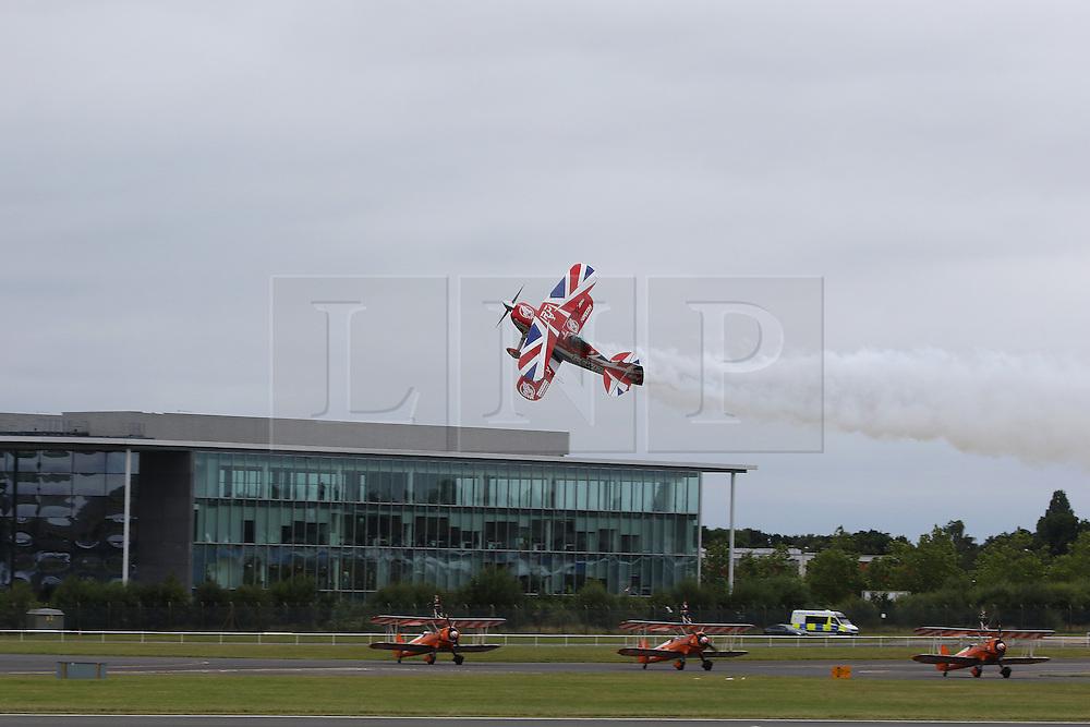 Pitts S-2S Special, Farnborough International Airshow, London Farnborough Airport UK, 15 July 2016, Photo by Richard Goldschmidt