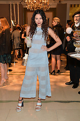 ELIZA DOOLITTLE at a Dinner to celebrate the launch of the Mulberry Cara Delevingne Collection held at Claridge's, Brook Street, London on 16th February 2014.