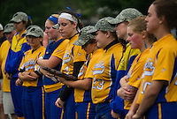 NHIAA Division III softball state championships Franklin versus White Mountain.    (Karen Bobotas/for the Laconia Daily Sun)