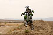 Mini bikes at Mt.Graham MX Park race May 13, 2006 in Safford, Arizona.