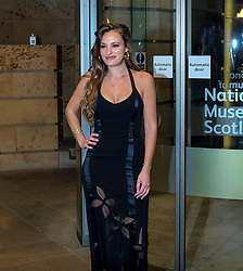 The Hunter Foundation Dinner, Edinburgh, 18 February 2020<br /> <br /> Sir David Attenborough was giving the talk at this year's Hunter Foundation Dinner<br /> <br /> Pictured:  Musician Nicola Benedetti<br /> <br /> Alex Todd | Edinburgh Elite media