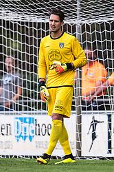 goalkeeper Janis Blaswich of Heracles Almelo during the Pre-season Friendly match between Heracles Almelo and Fiorentina at Sportpark Wiesel  on August 01, 2018 in Wenum-Wiesel , The Netherlands
