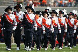 The Virginia Cavaliers marching band....The Virginia Cavaliers defeated the Wyoming Broncos 13-12 in overtime on September 9, 2006 at Scott Stadium in Charlottesville, VA.