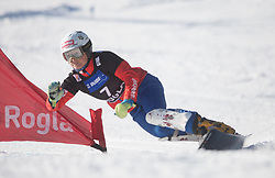 Riegler Claudia during the women's Snowboard giant slalom of the FIS Snowboard World Cup 2017/18 in Rogla, Slovenia, on January 21, 2018. Photo by Urban Meglic / Sportida
