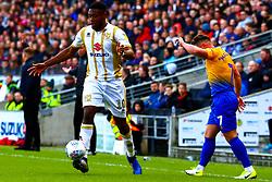 Chuks Aneke of Milton Keynes Dons controls the ball - Mandatory by-line: Ryan Crockett/JMP - 04/05/2019 - FOOTBALL - Stadium MK - Milton Keynes, England - Milton Keynes Dons v Mansfield Town - Sky Bet League One