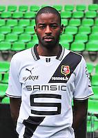Adboulaye DIALLO - 19.09.2013 - Photo officielle - Rennes - Ligue 1<br /> Photo : Philippe Le Brech / Icon Sport