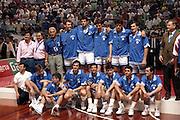 Europei Roma 1991 - Premiazioni - Italia Medaglia d'ArgentoFoto: Fabio Ramani