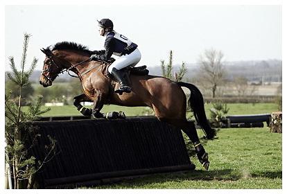 Buckingham Riding Club Eventer Trials at Milton Keynes Riding Club..5-4-2009.GA Clover