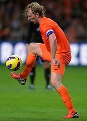 14-11-2012 VOETBAL: NEDERLAND - DUITSLAND: AMSTERDAM<br /> Friendly match Netherlands - Germany in Amsterdam Arena / Dirk Kuyt<br /> ©2012-FotoHoogendoorn.nl