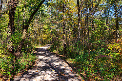 11 October 2015:  Starved Rock State Park Trail leading from Parkman's Plain to the river trail. Scenics from along the Illinois River Scenic Road and sites along the drive.  All images were between Ottawa and East Peoria.<br /> <br /> This image was produced in part utilizing High Dynamic Range (HDR) processes.  It should not be used editorially without being listed as an illustration or with a disclaimer.  It may or may not be an accurate representation of the scene as originally photographed and the finished image is the creation of the photographer.