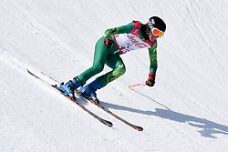 O'CALLAGHAN Jonty LW9-1 AUS competing in the Para Alpine Skiing Downhill at the PyeongChang2018 Winter Paralympic Games, South Korea