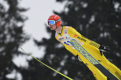 12.02.2013, Vogtland Arena, Kingenthal, GER, FIS Ski Sprung Weltcup, im Bild Andreas WANK (GER) // during the FIS Skijumping Worldcup at the Vogtland Arena, Kingenthal, Germany on 2013/02/12. EXPA Pictures © 2013, PhotoCredit: EXPA/ Eibner/ Bert Harzer..***** ATTENTION - OUT OF GER *****