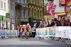 Karol-Ann Canuel leads Boels Dolmans at UCI Road World Championships Women's Team Time Trial 2017 a 42.5 km team time trial in Bergen, Norway on September 17, 2017. (Photo by Sean Robinson/Velofocus)