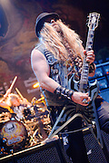 Zakk Wylde/Black Label Society performing at the Guildhall Southampton, UK on February 20, 2011