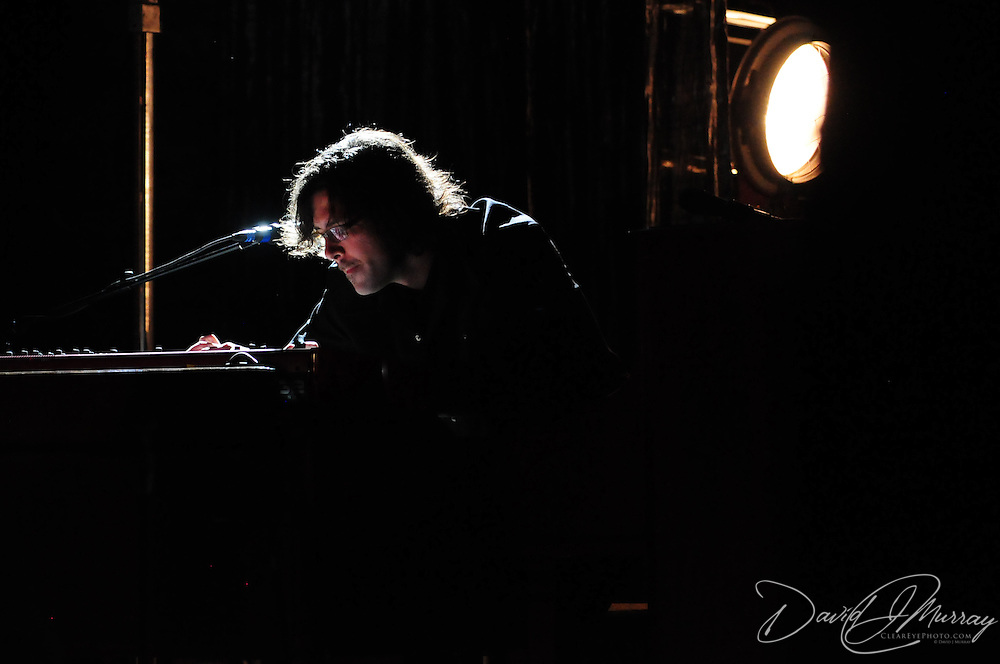 Siss Boom Bang keyboard player Daniel Clarke, performing with k.d. lang at The Music Hall in Portsmouth, NH