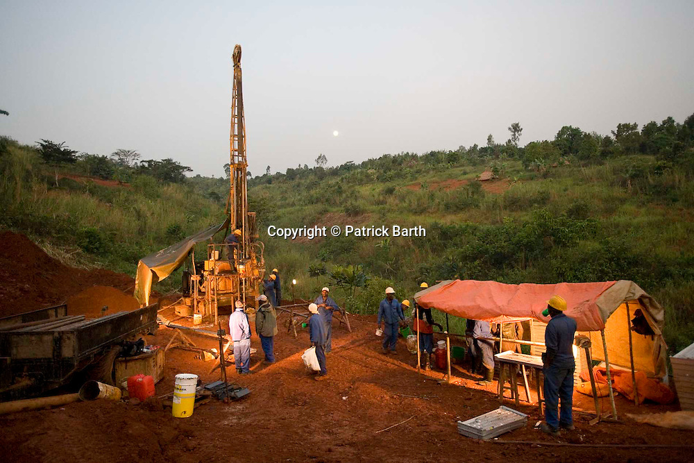Big mining companies are moving into the area to get a slice of Congo's wealth in Gold.
