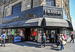 House of Fraser announces closure of dozens of stores, including the flagship Edinburgh West End store.<br /> <br /> © Dave Johnston / EEm