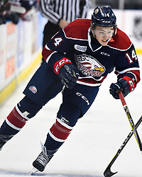 DJ Busdeker of the Saginaw Spirit. Photo by Aaron Bell/OHL Images