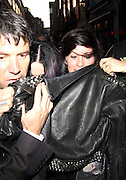09.JUNE.2012. LONDON<br /> <br /> KATY PERRY AND ROBERT ACKROYD LEAVING CIRQUE DE SOIR NIGHT CLUB IN SOHO AT 5:00AM <br /> <br /> BYLINE: EDBIMAGEARCHIVE.CO.UK<br /> <br /> *THIS IMAGE IS STRICTLY FOR UK NEWSPAPERS AND MAGAZINES ONLY*<br /> *FOR WORLD WIDE SALES AND WEB USE PLEASE CONTACT EDBIMAGEARCHIVE - 0208 954 5968*