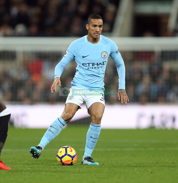 27 December 2017 Newcastle: Premier League Football - Newcastle United v Manchester City : Danilo of Man City.<br /> (photo by Mark Leech)