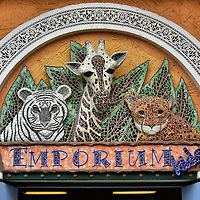 Zoo Animal Mosaic at Busch Gardens in Tampa, Florida <br />